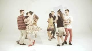 Taniec KONTRO z Łomżyńskiego (Kurpie Zielone) tańczone na potańcówkach Domu Tańca