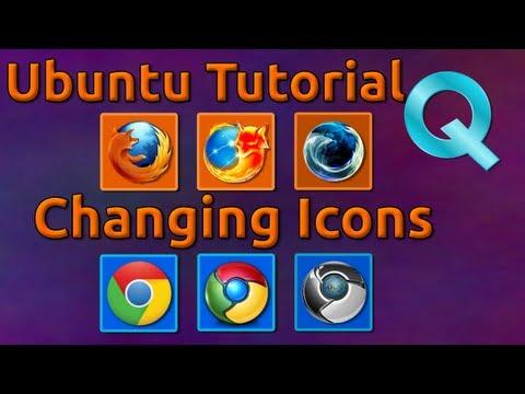 How to Change Icons in Ubuntu 12.04
