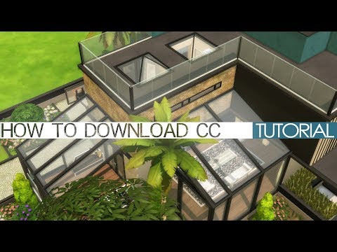 The Sims 4 Tutorial: How to download custom content (from Simsdomination)