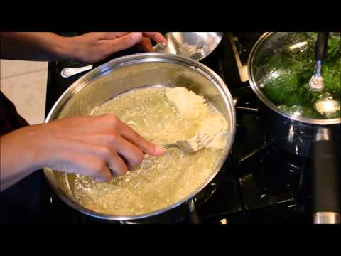 How to make the Best Home made Alfredo Sauce - simple, from scratch