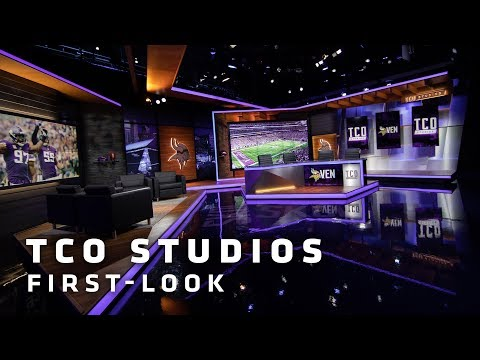 Vikings Unveil State-of-the-Art TCO Studios | Minnesota Vikings