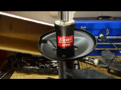 How to check bad shock oil leak in car or truck