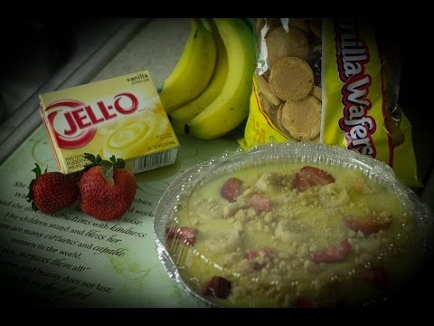 Strawberry Banana Pudding