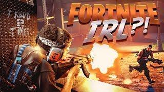 FORTNITE GUNS IN REAL LIFE!!! (DON