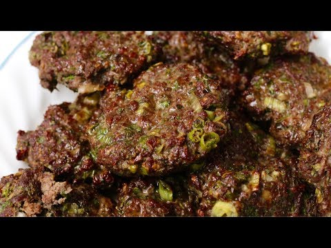 Beef and Ginger Meat Patties