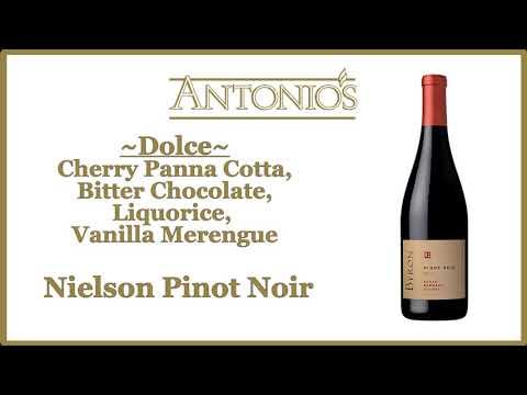 Antonio's Upstairs Pinot Noir Dinner
