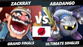 Japan Smash Ultimate Tournament - GW | Zackray (Wario) Vs. SHI | Abadango (Meta Knight) SSBU GF