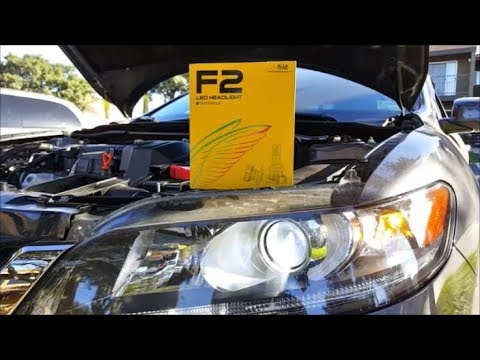 [Review and Demo] Alla Lighting F2 H11 LED Headlight Bulb