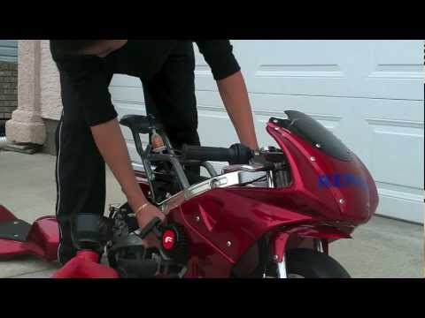 How to Drain a Pocket bike