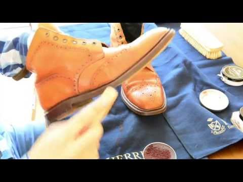 Polishing shoes part 1