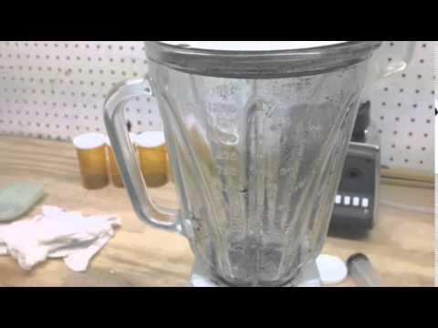 Graphene blender method test Day 1