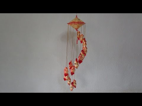 CNY TUTORIAL NO. 48 - Hongbao Spiral Hanging Ornaments