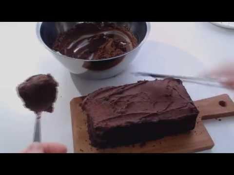 Chocolate cream frosting /dessert (no mixer!)