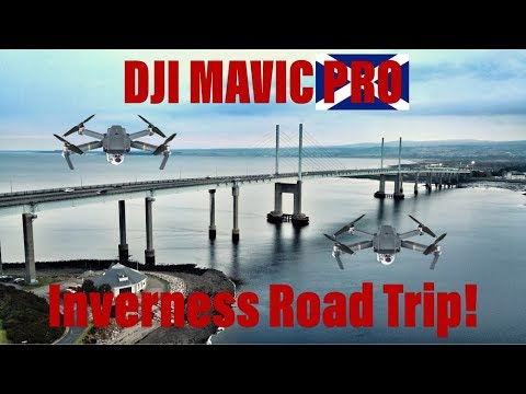 DJI Mavic Pro - Scotland Trip (Loch Lomond, Loch Ness & Inverness) 4k