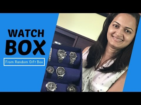 How To Make A WATCH BOX | ⌚️ case