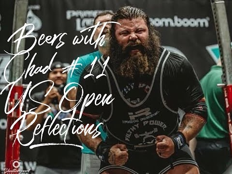 Beers with Chad #11   US Open Reflections