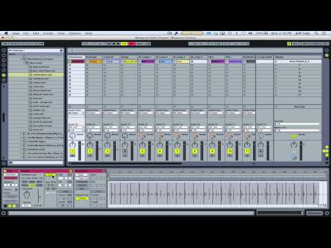 Importing backing tracks into Ableton Live (Ellie Goulding - Burn)