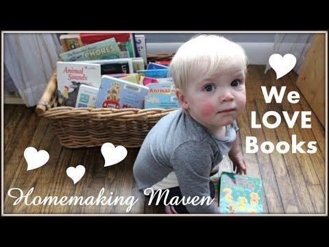 Library Day! | Vlog | Homemaking Maven
