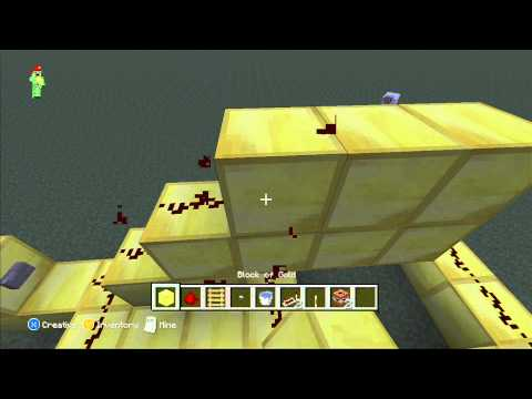 Minecraft Xbox 360 tutorial:how to make TNT fireworks