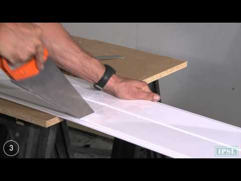PVC Ceiling Panels - How to install Aquaclad ceiling panels - by IPSL