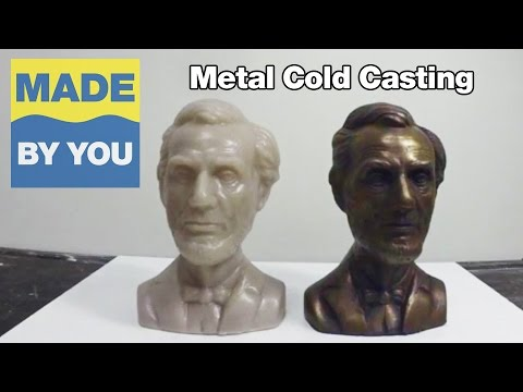 Moldmaking Tutorial: How To Make a Resin Metal Cold Casting
