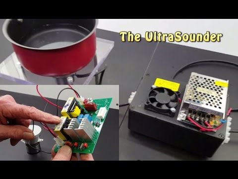 Ultra Deep Clean with Sonics - Building a simple Ultrasound cleaner -