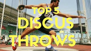 Top 5 Longest Discus Throws Of All Time Discus World Records