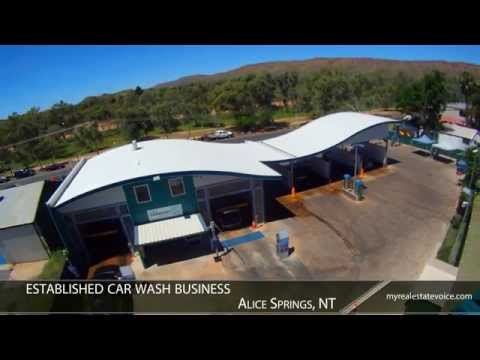 Share in Profitable Car Wash Business for Sale - Alice Springs, NT