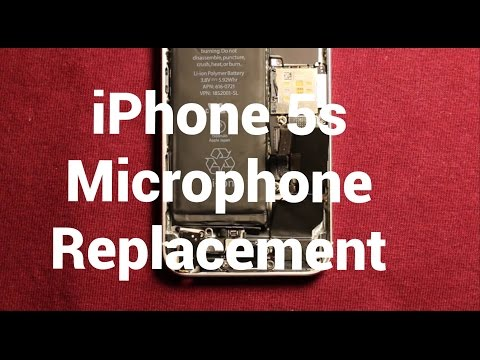 IPhone 5s Microphone Replacement How To Change