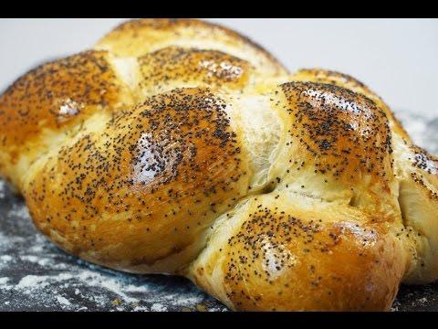 Delicious Challah bread, very easy method