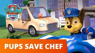 The Hot Dog Truck Windstorm Rescue! 🌪️ PAW Patrol Toy Pretend Play Rescue