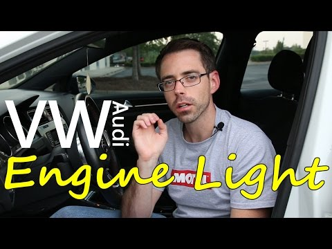 VW or Audi Check Engine Light 101 and How to Erase It