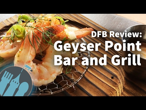Review: Geyser Point Bar and Grill at Disney's Wilderness Lodge