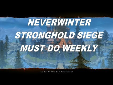 NEVERWINTER STRONGHOLD SIEGE ANOTHER REASON TO JOIN A GUILD