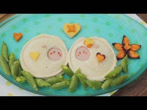 How to Make a Bento Sheep Sandwich