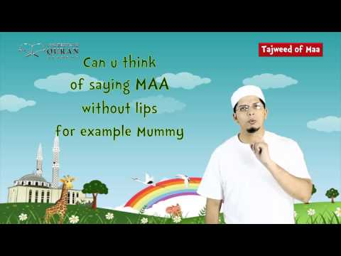 Read Quran with Tajweed for Muslim Kids   Lesson 1