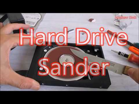 How To Make Sander or Grinder From Failure Old Hard Drive