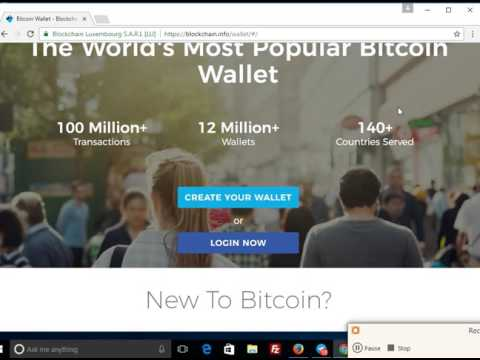 How to Create Bitcoin Wallet in Nigeria By Ponzigist com ng