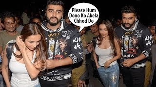 Arjun Kapoor & Malaika Arora OPENLY Show Their LOVE In Public By Holding Each Other Hands