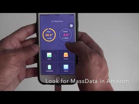 MassData iEasyDrive USB Drive for iphone in Amazon - Best iphone external storage