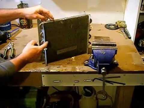 How to scrap a copper aluminum radiator for maximum cash . Easy money !