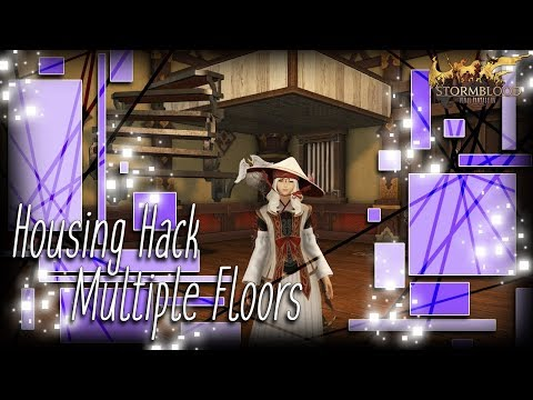 FFXIV: How To Make Multiple Floors - Housing Hack