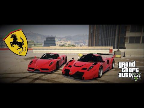 Grand Theft Auto 5 - Ferrari Enzo & Gemballa MIG-U1