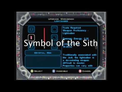 Star Wars KOTOR 1&2: Lightsaber Colors