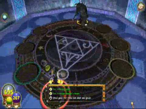 Wizard101 battle against Ullik