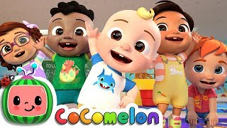 The Stretching and Exercise Song | CoCoMelon Nursery Rhymes & Kids Songs