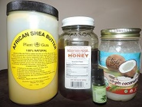Easy Shea Butter Coconut Oil Body Moisturizer | Tutorial