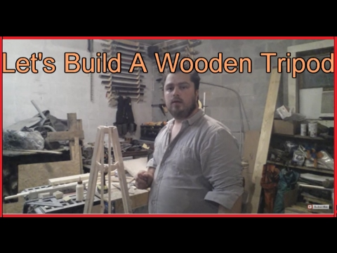 Making a wooden tripod from a 2x4