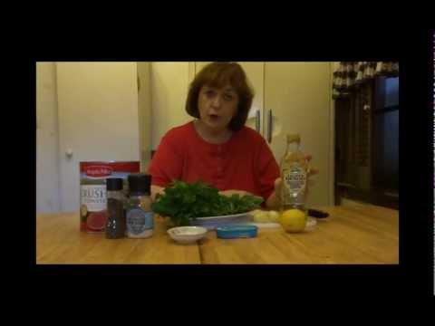 Gina's homemade marinara sauce