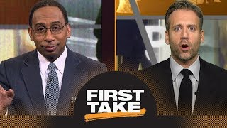 Stephen A. and Max debate if Rockets or Warriors will get No. 1 seed in West | First Take | ESPN